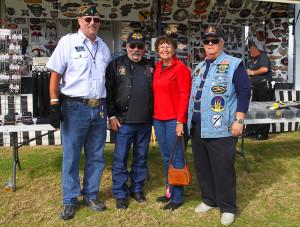 Doug Meyers, Wendell and Judy Shirk, and Terry Schroepfer. Jillian Danielson/RiverScene