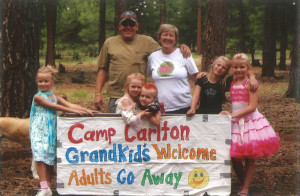 Donna and her family. Submitted photo by Donna Best-Carlton
