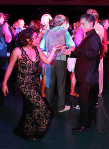 Mya Guerra and Jacob Garcia dance at the Senior Prom which was held Saturday evening at the high school. Jillian Danielson/RiverScene