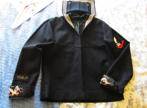 John's Navy uniform