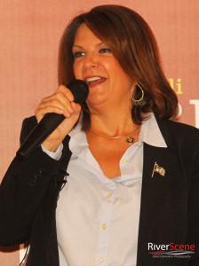 Republican Senator Kelli Ward announces her run for State Senate Tuesday evening in Lake Havasu City, AZ.