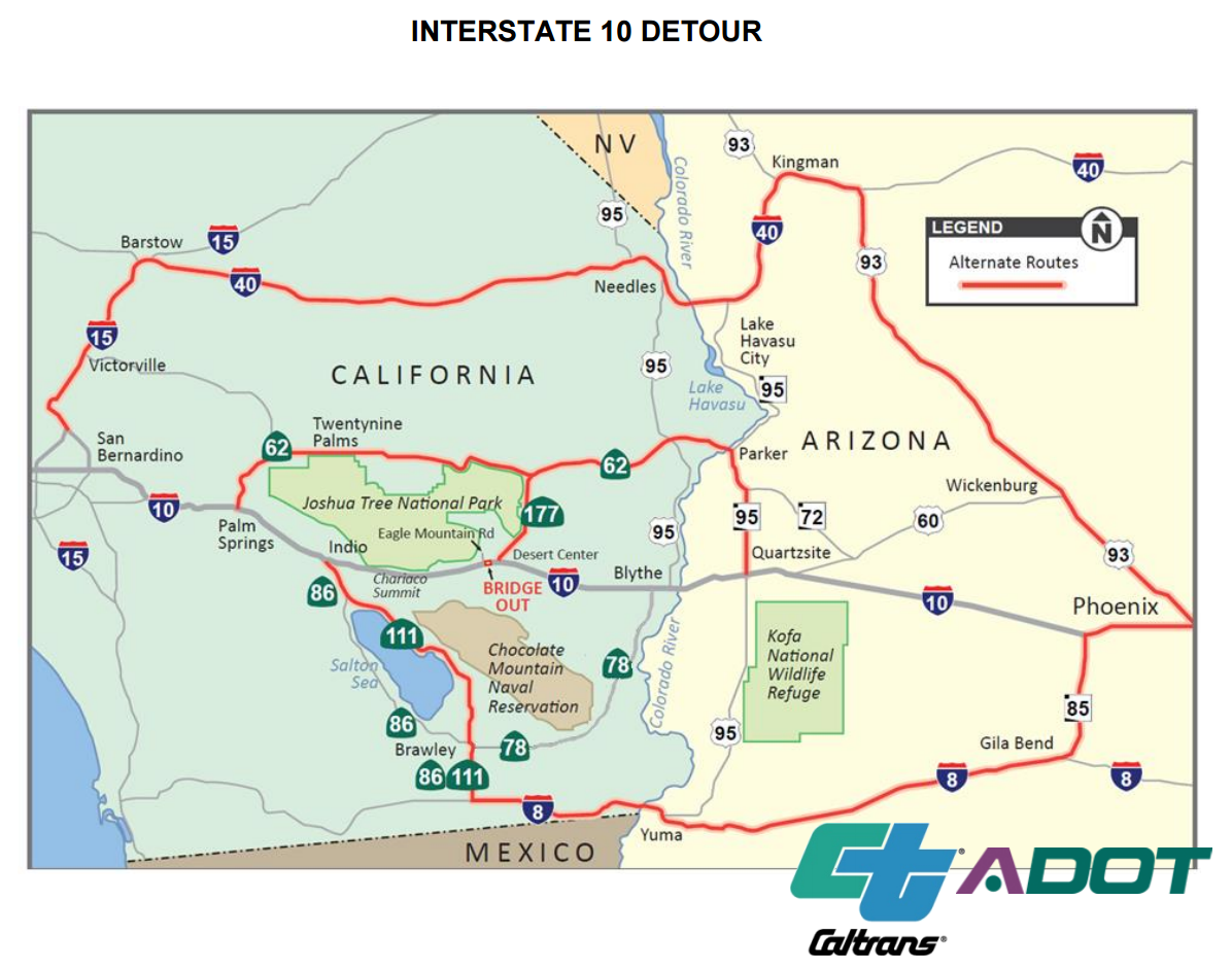 Press Release Submitted by Cal Trans