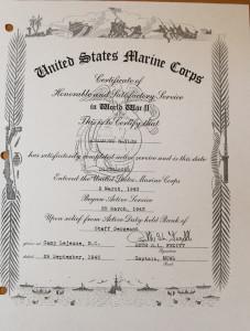 Honorable discharge. Jillian Danielson/RiverScene