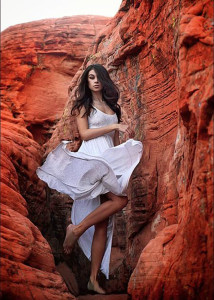 Submitted photo Jennifer Alder. Model Masha Diduk