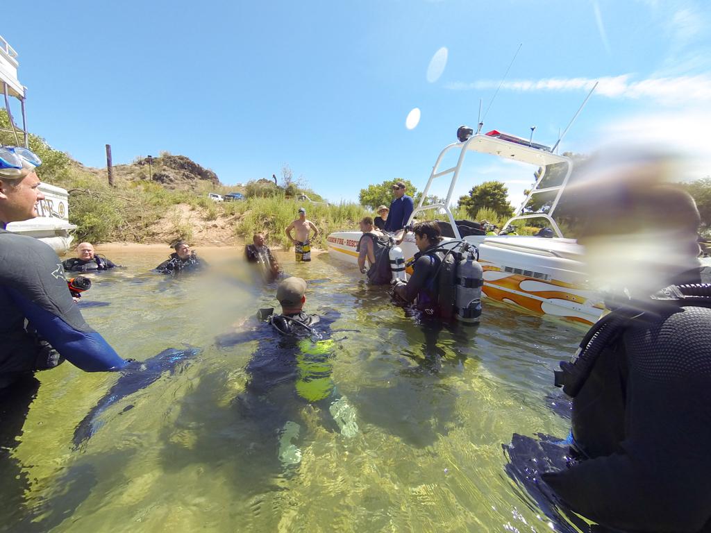 Rescue Dive Team Training in Parker, Arizona. File photo (2012) - Nathan Adler/RiverScene Magazine