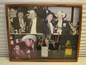 Photos of Roger and celebrities. Jillian Danielson/RiverScene