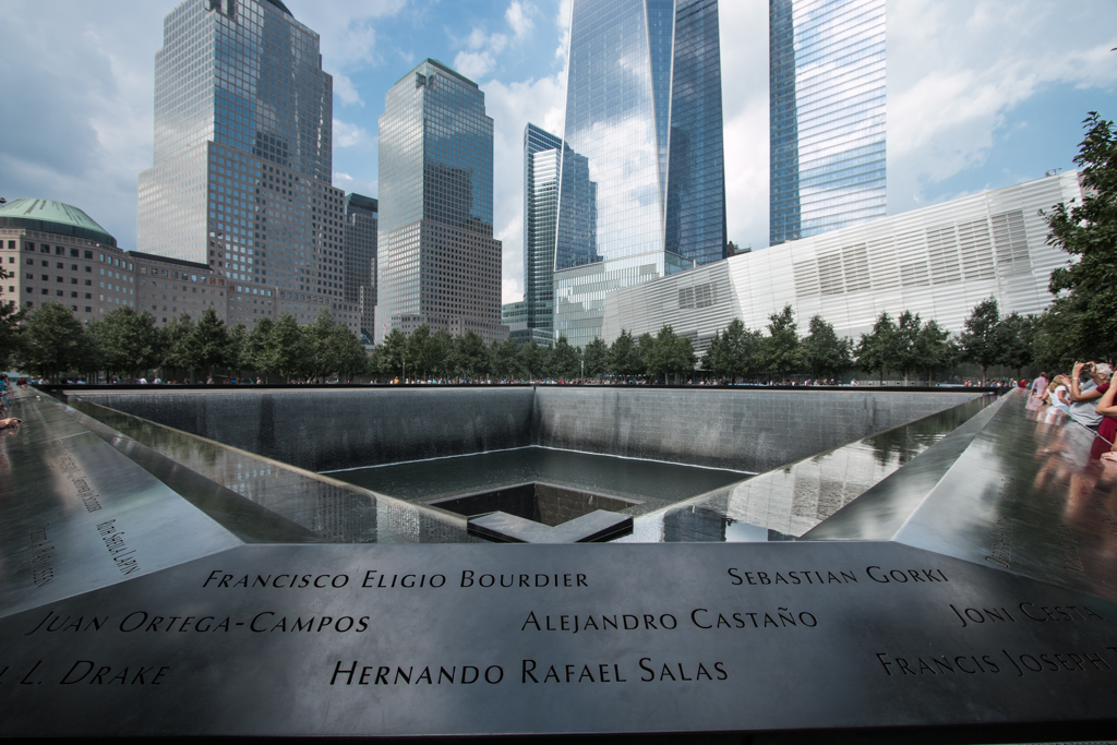 9/11 South Memorial Pool - Nathan Adler/RiverScene