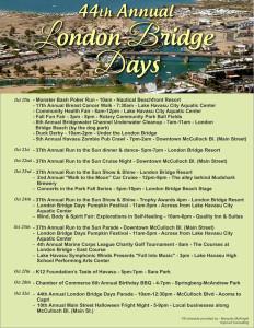 London Bridge Days Flyer