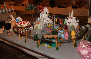 A Dsineyland themed duck display won People's Choice and Most Magical Saturday night. Jillian Danielson/RiverScene