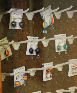 Balloon jewelry sits on display at the Havasu Festival Balloon Store. Jillian Danielson/RiverScene