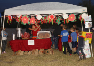 Children learn about different cultures at the Holidays Around The World Thursday evening. Jillian Danielson/RiverScene
