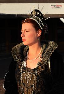 Melanie Preston portrays The Queen at Lake Havasu's first Renaissance Faire. Jillian Danielson/RiverScene