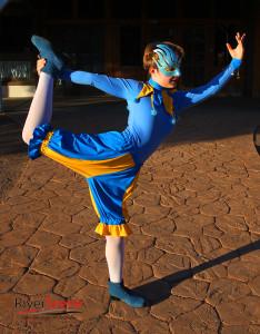 Abigail Hunt will perform as Acrobatic Jester at Lake Havasu's first Renaissance Faire. Jillian Danielson/RiverScene