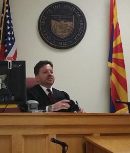 Kingman City Magistrate Jeffrey Singer. Judy Lacey/RiverScene