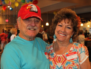 Paulette and Art Umbaugh pose for a photo Saturday afternoon at the Havasu Pioneer's Reunion. Jillian Danielson/RiverScene