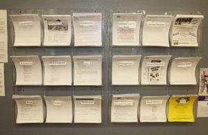 A job board is available at the Goodwill Job Center. Jillian Danielson/RiverScene