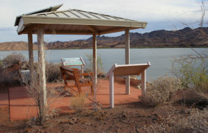 Benches are placed along some of the trails. Jillian Danielson/RiverScene