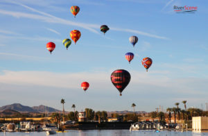 Rotary Park is one of the more popular spots to view the hot air balloons during the Havasu Balloon Festival every January. Jillian Danielson/RiverScene