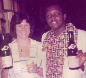 A photo of Beth and Tee in 1975. Photo courtesy Beth Taylor
