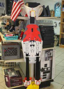 An apparatus for sit ups sits on display at Pawn Starz. Jillian Danielson/RiverScene