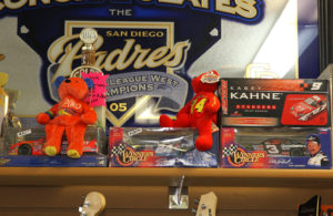 Items sit behind the counter for sale at Wimpy's Pawn. Jillian Danielson/RiverScene