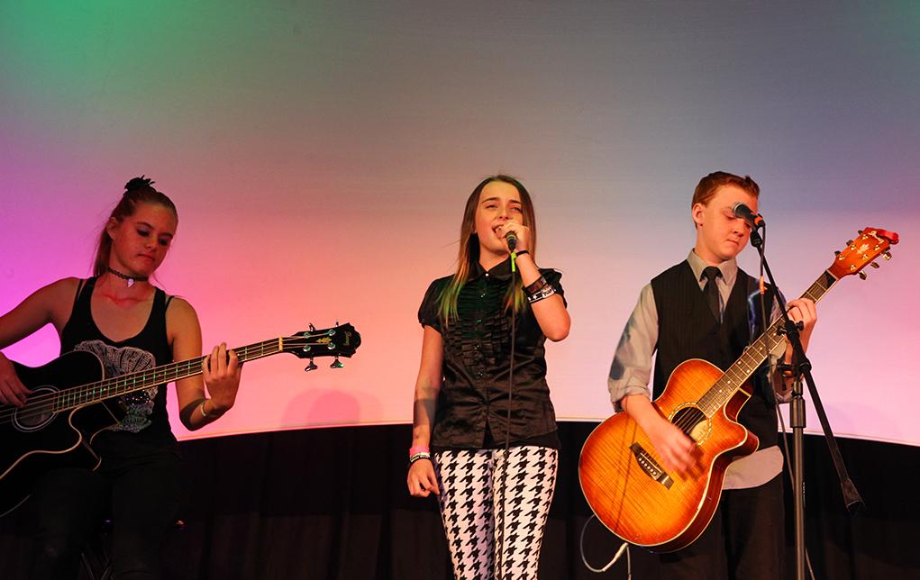 The Rockstars of Tomorrow perform at the 2016 Songwriters Festival. Jillian Danielson/RIverScene