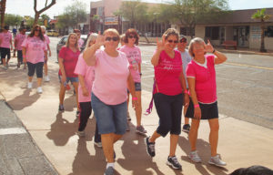 Participants walk during Strides For Hope on Saturday morning. Jillian Danielson/RiverScene