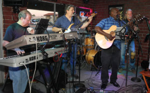 Kevin Jaxon and the Midnight Sun perform at Pennington's Pub. Jillian Danielson/RiverScene