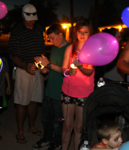 A candlelit ceremony was held in honor of Infant/Pregnancy Awareness Day. Jillian Danielson/RiverScene