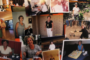 A photo collage of Dody's life. Jillian Danielson/RiverScene