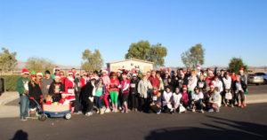 Havasu Community Health Foundation's Jingle Bell 5K for health and wellness! Ken Gallagher/RiverScene
