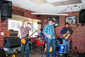 Cross Cutt performed at the benefit Sunday. Rick Powell/RiverScene