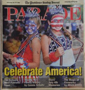 Silva's cover photo for Parade Magazine. photo courtesy Ron Silva