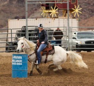 Fourth of 6 events that make up the 3 Cans Up Gymkhana Buckle Series, was held today at SARA Park Rodeo Grounds. January 7, 2017. Ken Gallagher/RiverScene