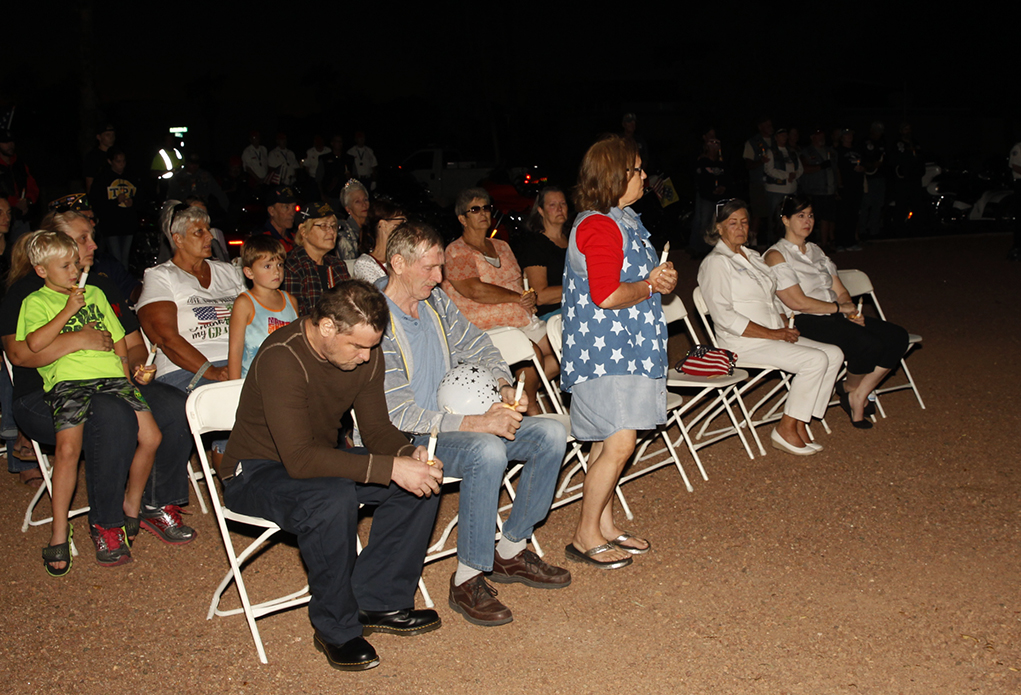 Lake Havasu City Gold Star Mothers Honored