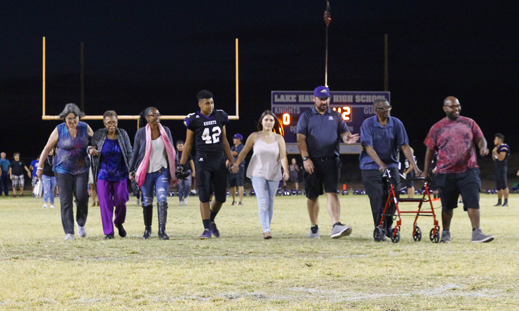 Knights' Senior Night Ends With A Loss To The Verrado Vipers