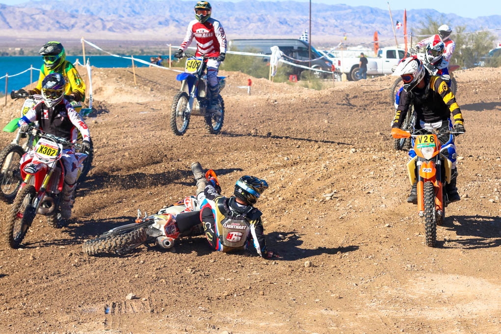 District 37 AMA Big 6 Grand Prix Series, co hosted by 928MX.com and Vikings MC @ adjacent to Crazy Horse Campgrounds on the island, December 8-10, 2017. Ken Gallagher/RiverScene