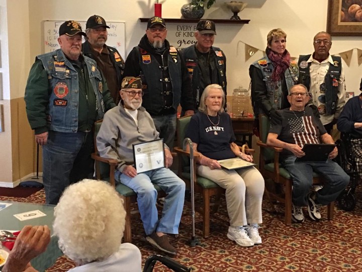 American Legion Honors Veterans At Prestige Assisted Living