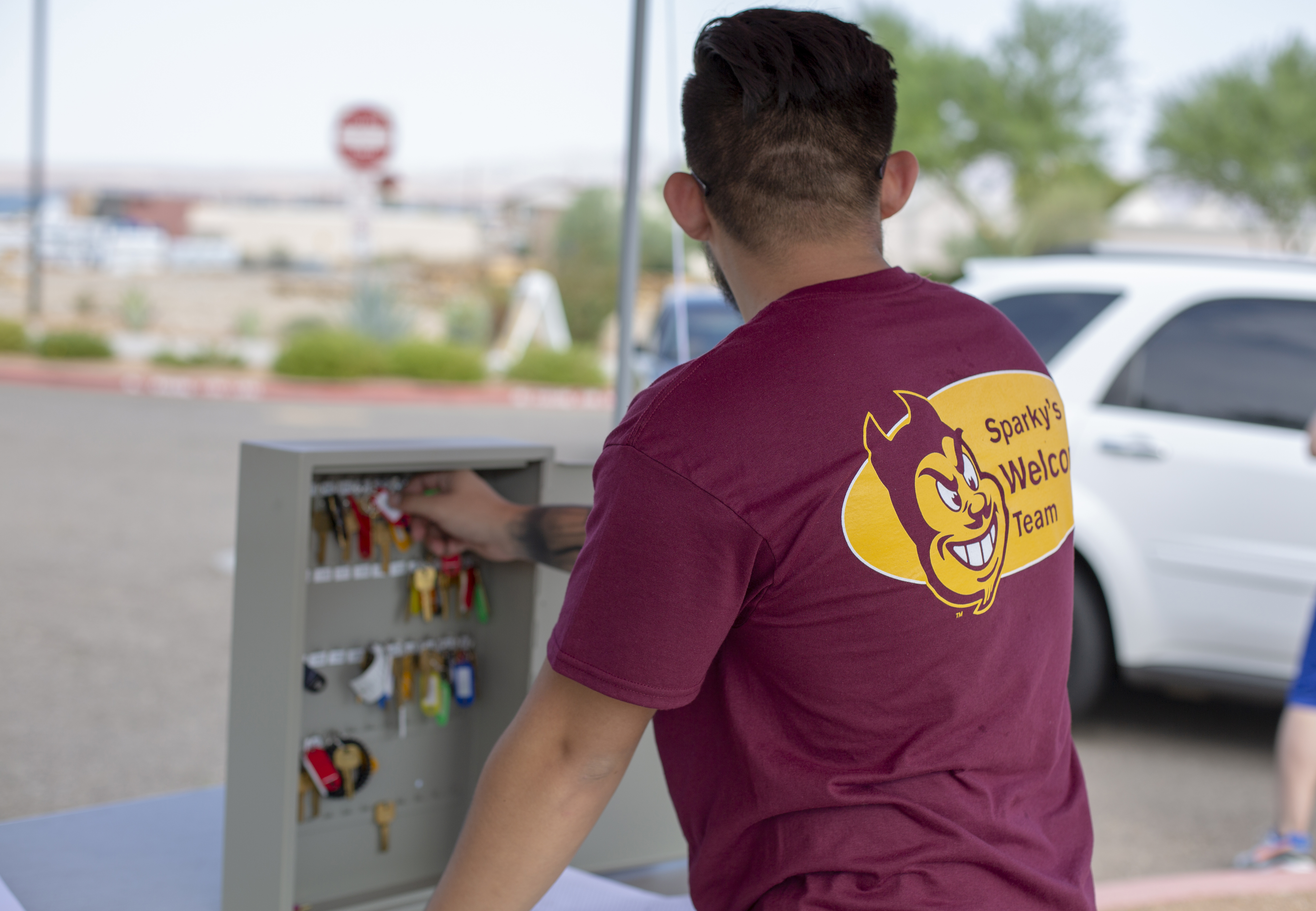 ASU Welcome Week Move in day