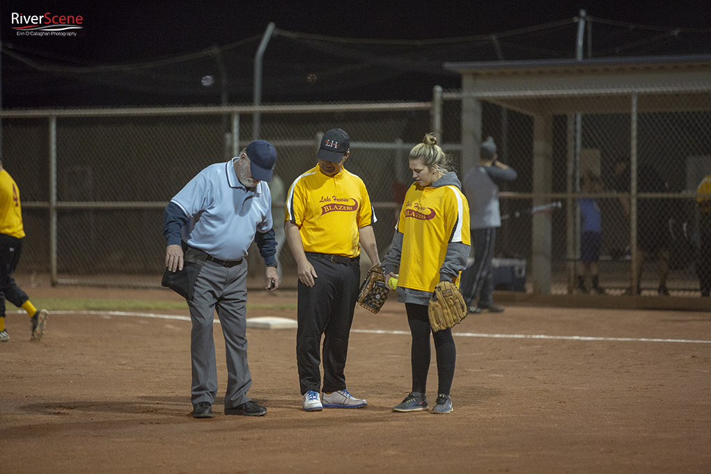 Special Olympic Softball Game