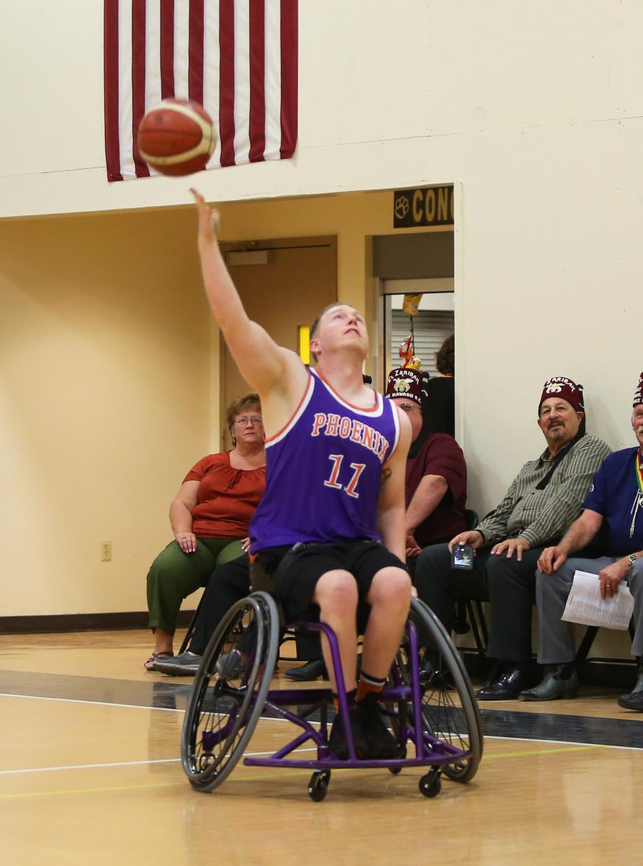 suns wheelchair game