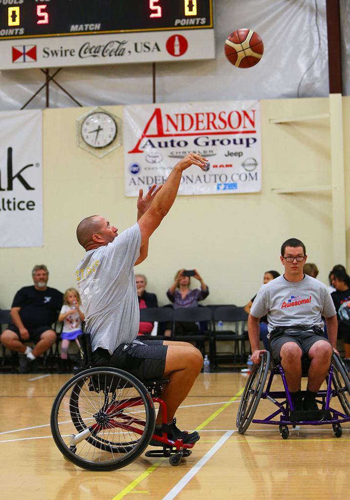 suns wheelchair basketball