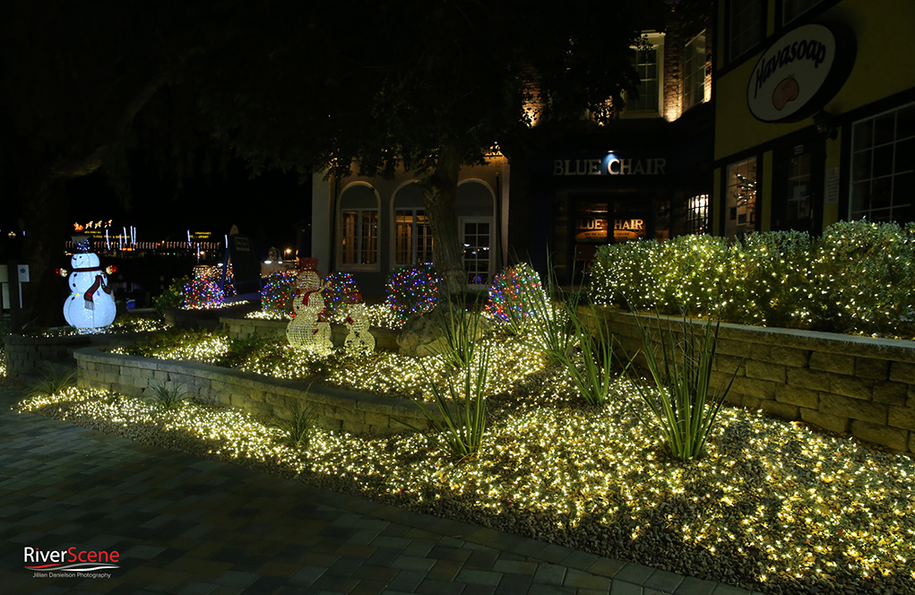 London Bridge Lake Havasu Christmas Lights