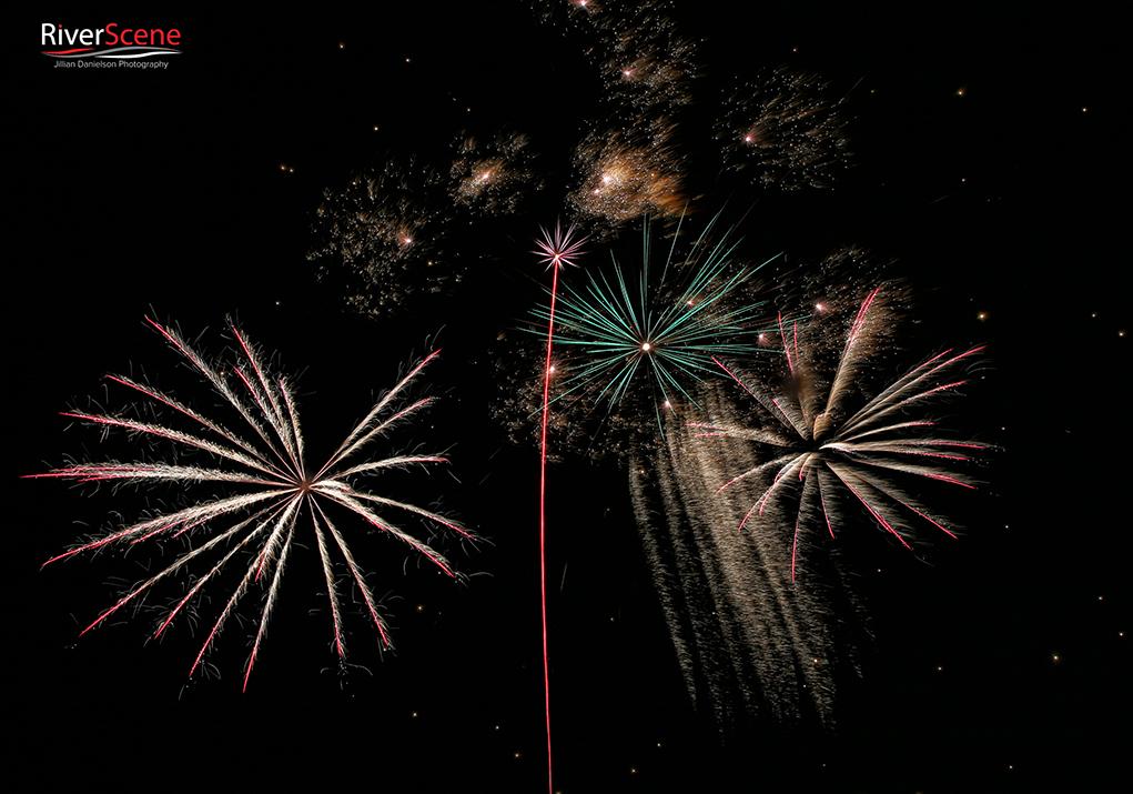 Winterblast pyrotechnics 2019 fireworks riverscene