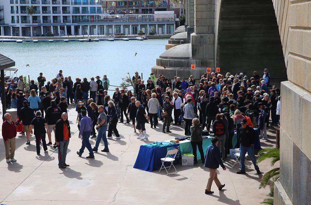 line dance on the bridge riverscene news 2019 lake havasu
