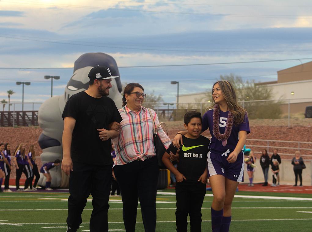 Varsity Soccer Senior Night