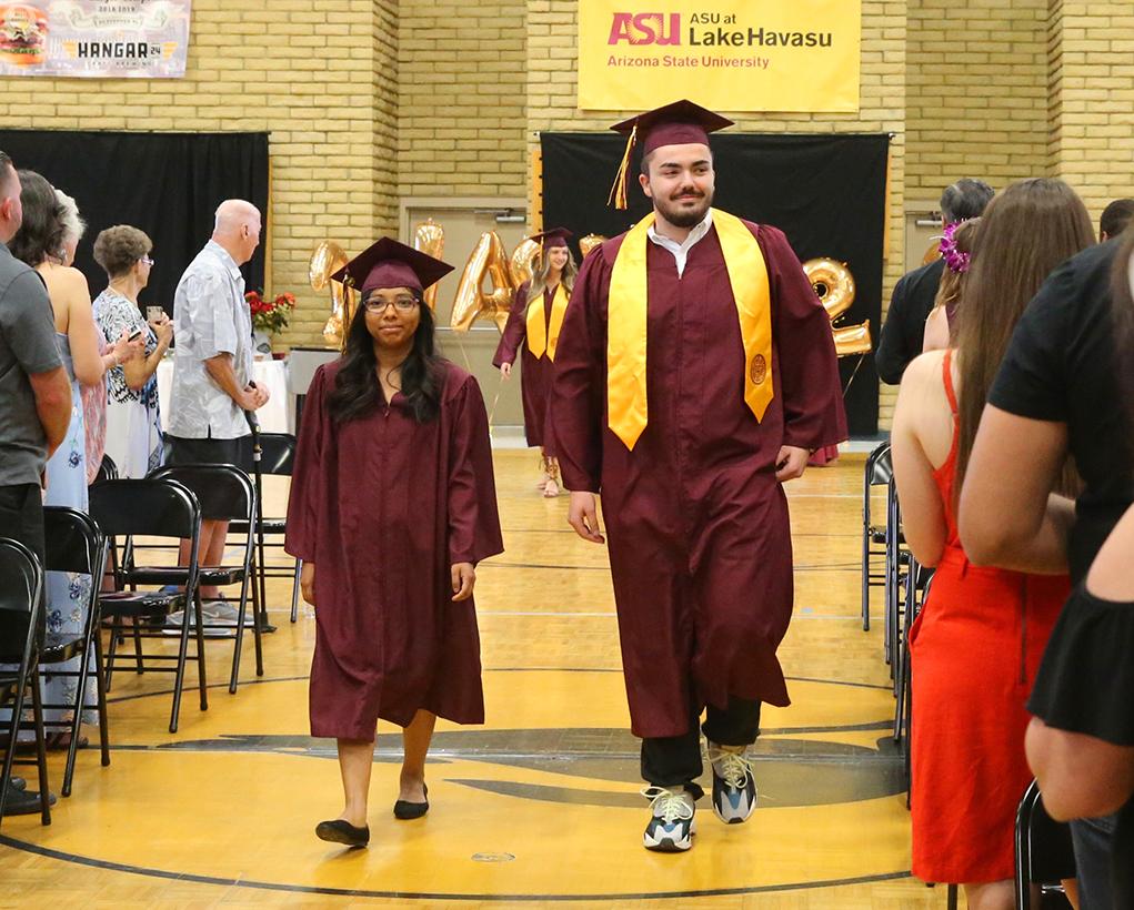ASU Havasu 2019 Graduation RiverScene