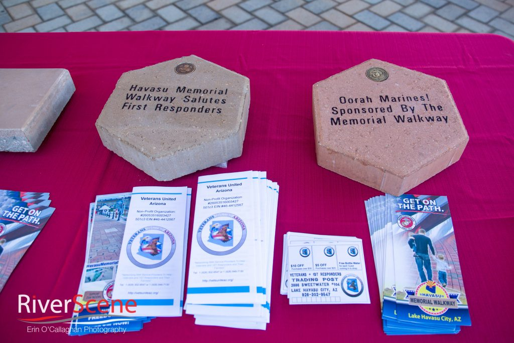 first responders brick laying