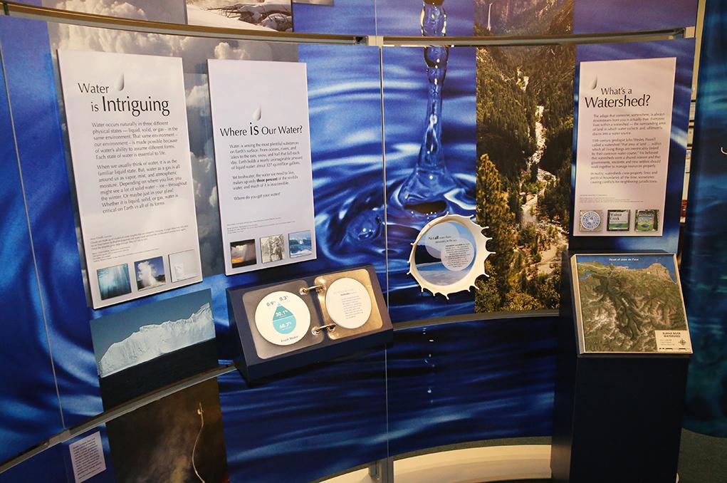 waterways exhibit Museum of history