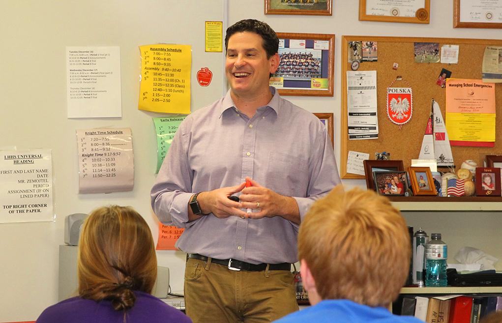 Teacher Spotlight: Brian Zemojtel History Teacher at LHHS